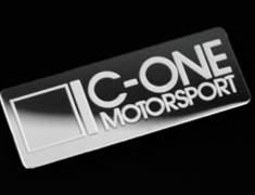 C-One - Emblem - Metal Plate