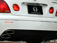 Aristo - VIP Style - Anniversary - Rear Bumper - Red LED