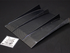 Universal - Rear Diffuser - General Purpose - Carbon - 605mm Wide ( Made to Order - 3 months ) - VARD-001