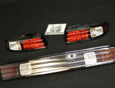 Silvia - S14 - Nissan - Silvia - S14 - Tail Lights + Garnish - S14 Set