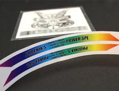 Rainbow Sticker - 21cm x 5cm