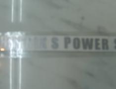 Phoenix Power - Logo Sticker Silver