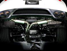 Kansai Service - R Titan Dual Exhaust Muffler