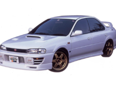 Impreza Sports Wagon WRX - GF8 - Material: Urethane - Type: Front Skit - 17060021