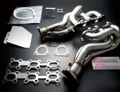 Fairlady Z - 350Z - Z33 - Design: 2x 3-1 - Diameter: 42.7-60mm - Material: SUS304 - 415001