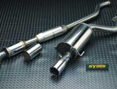 Syms - Center Pipe + Rear Silencer
