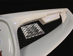 Civic Type R - FD2 - Material: PPE - Color: Unpainted - 75100-XKPE-K0S0-ZZ