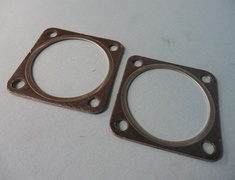 Turbocharged - Special Wastegate Stainless Flange - Gasket Bypass Out - 2 Piece Set - 14009-AK005