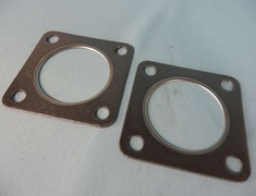 Turbocharged - Special Wastegate Stainless Flange - Gasket Base Plate - 2 Piece Set - 14009-AK006