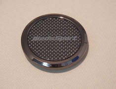 Flat Center Cap - Carbon Look