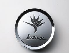 "- Kranze BAZREIA - 18""~20"" (3 piece wheel) - Silver w/ Black Logo - Set of 4 - 52577"