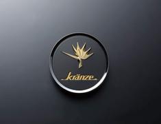 "- Kranze BAZREIA - 16""~17"" (2 piece wheel) - Black w/ Gold Logo - Set of 4 - 52285"