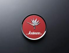"- Kranze BAZREIA - 16""~17"" (2 piece wheel) - Red w/ Silver Logo - Set of 4 - 52232"