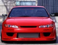 Silvia - S15 - Construction: FRP - Colour: Unpainted - Front Bumper Spoiler