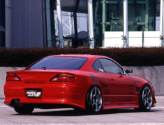 Silvia - S15 - Construction: FRP - Colour: Unpainted - Rear Bumper Spoiler