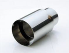 Universal - Diffuser Tail - Material: Stainless Steel - Diameter: 114.3mm - Length: 210mm - TL.S353