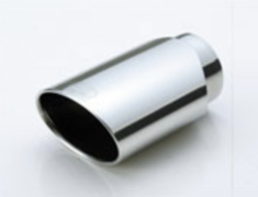 Universal - Oval Tail - Material: Stainless Steel - Diameter: 80mm - Length: 180mm - TL.OV303