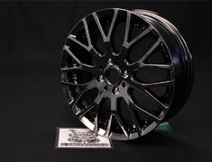"""Insight - ZE2 - Colour: Black Metal Coat - Size: 16"""" - Width: 6.0J - Hole: 4H-100 - Offset: +53 - 42700-XJ4-660C-53"""