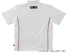 Ralliart - Dry Polo Shirt - White