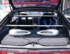 M and M Honda - Rear Pillar Bar - CRX