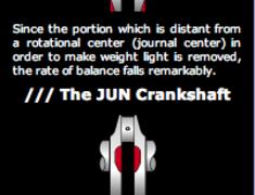 JUN - Billet Crank Shaft