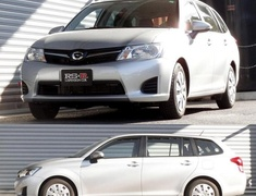 Corolla - NZE164G - Front Rate: 2.26 kg/mm - Front Height: 45-40mm - Rear Rate: 3.69 kg/mm - Rear Height: 40-35mm - T496W