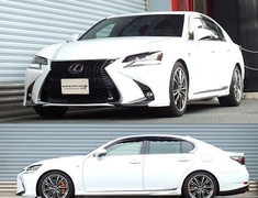 GS450h - GWL10 - Front Rate: 5.0 kg/mm - Front Height: -25~20mm - Rear Rate: 8.67 kg/mm - Rear Height: -30~25mm - T174D