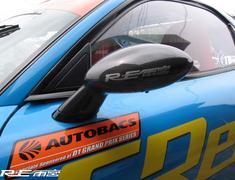 RE Amemiya - FD3S Super Door Mirror - Carbon