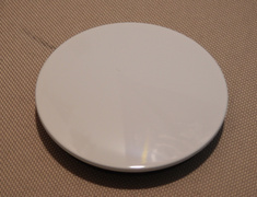A Flat Small O Ring Type - White