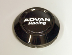 Yokohama Wheel Design - Advan Racing - Center Cap - Black - Low