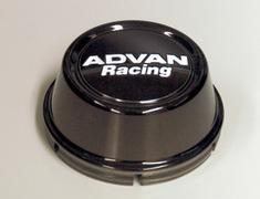 Yokohama Wheel Design - Advan Racing - Center Cap - Black - High