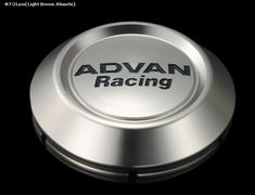 Yokohama Wheel Design - Advan Racing - Center Cap - Silver - Low Type