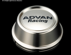 Yokohama Wheel Design - Advan Racing - Center Cap - Silver - High Type