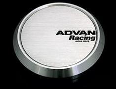 Yokohama Wheel Design - Advan Racing - Center Cap - Silver