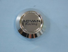 Advan Racing - Center Cap - Low - Bright Chrome
