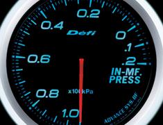 Defi Link Meter - ADVANCE BF - Intake Manifold Pressure - Blue