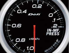 Defi Link Meter - ADVANCE BF - Intake Manifold Pressure - White