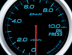 Defi Link Meter - ADVANCE BF - Oil Pressure - Red