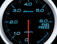 Defi Link Meter - ADVANCE BF - Fuel Press - Blue