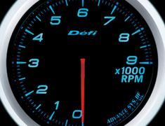 Defi Link Meter - ADVANCE BF - Tachomenter - Blue