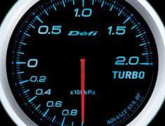 Defi Link Meter - ADVANCE BF - Turbo - 200kPa - Blue