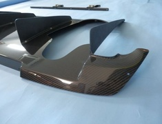 Rear Diffuser - Carbon - with Holes