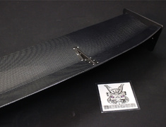 Lancer Evolution VIII - CT9A - Material: Wet Carbon - Width: 1500mm - Depth: 320mm - End Plate: Type A - End Plate: Type B - End Plate: Type C - End Plate: Type D - WC - 1500mm