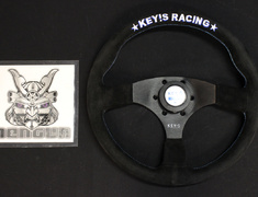 KEY'S Racing - Steering Wheel - Flat Type