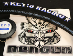 KEY'S Racing - Steering Wheel - Buckskin