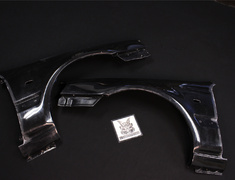 Stagea - WC34 - Construction: FRP - Colour: Unpainted - Front Fender Set
