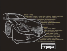 TRD - 2010 Collection - TRD Test Car T-Shirt - Print