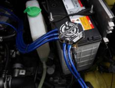 Greddy Wiring Kit - View of installation