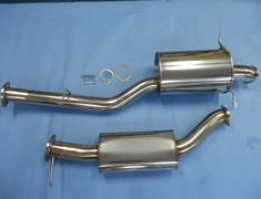 MO-022036-053 Mazda - RX7 - FD3S - End Muffler + Center Pipe - Pipe 90mm - Tail 101mm