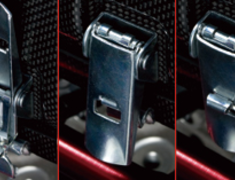 Toda - Sports Injection - Dry Carbon Surge Tank - Adjustment Lever & Lock zipper
